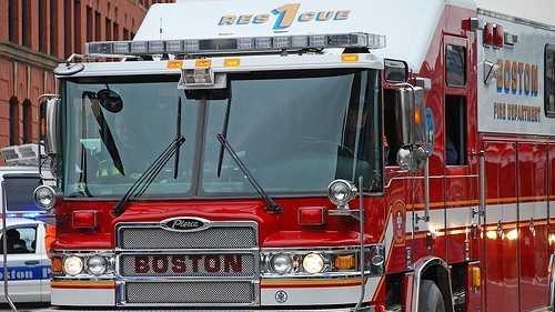 Boston Fire Truck