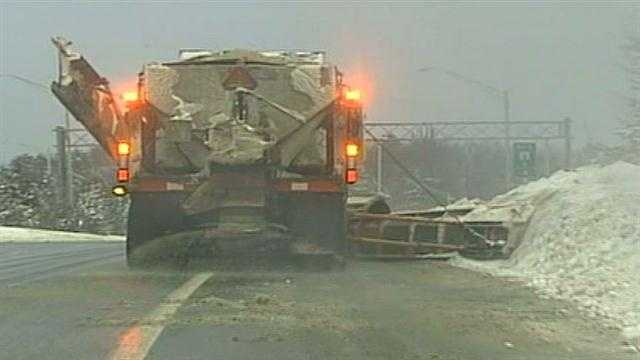 Snow budgets could be stressed by next storm
