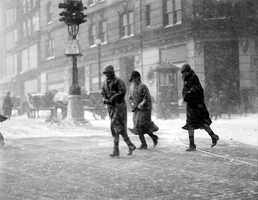 The biggest storm during the month came on February 19-20, 1934, when 15.0 inches of snow fell in Boston.