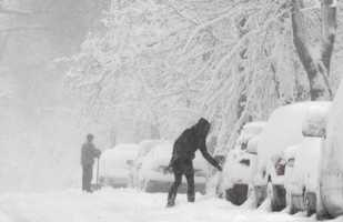 One of the stormiest months across the entire northeast, with multiple storms hitting the Boston area. The biggest storm on Feb 8 - 10 dropped 18.7 inches of snow.Photos are for illustrative purposes only and do not always reflect the actual snow event.