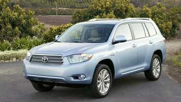 15. Toyota Highlander