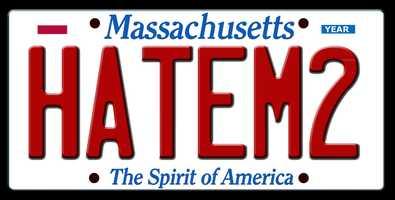 Rejected: HATEM2 (Hate me too)Registry's reason: DENIED - OFFENSIVE