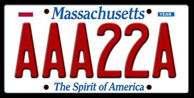 3. Numbers cannot be used in the middle of a plate&#x3B; they must come at the end. For example, AAA222 would be an acceptable Passenger vanity plate&#x3B; AAA22A would not be acceptable.