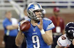 4. Matthew Stafford - Detroit Lions Quarterback - $12,500,000