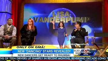Lisa Vanderpump is best known for The Real Housewives of Beverly Hills, which she joined in 2010.She is teamed up with new dancer Gleb Savchenko.