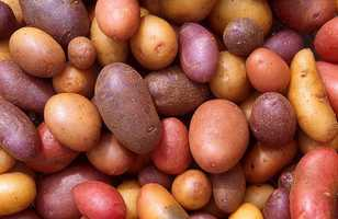 Baked potato wedges:1 cup potato wedges1 tsp corn/canola oil (to cook potato)1 Tbsp ketchup