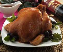 DINNER Roasted chicken: 3 ounces cooked chicken breast , roasted½ cup succotash (limas & corn) 1 tsp tub margarine 1 ounce whole wheat roll 1 tsp tub margarine