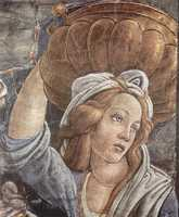 Detail from Botticelli's Trials of Moses.