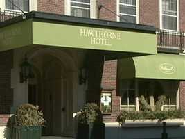 Welcome to the Hawthorne Hotel, in historic Salem, Massachusetts.