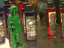 HEX sells voodoo dolls, potions and more.