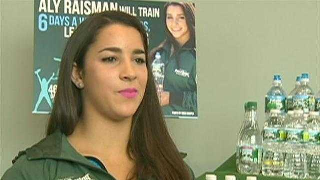 Aly Raisman to train for 2016 Olympics