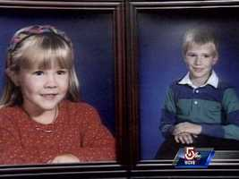 5-year-old Amy and 7-year-old Daniel were slashed to death.