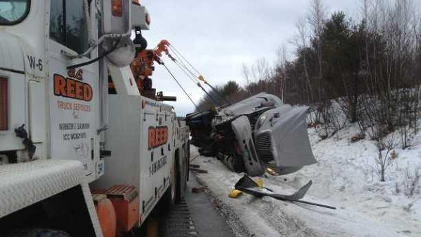 milk truck crash