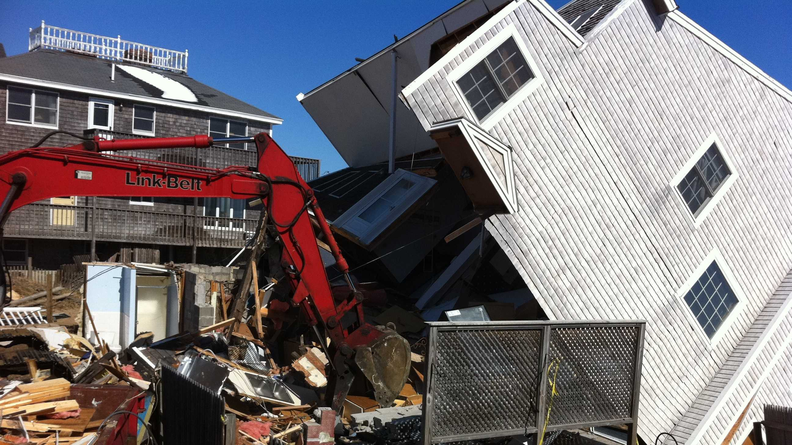 Plum Island demolition 2