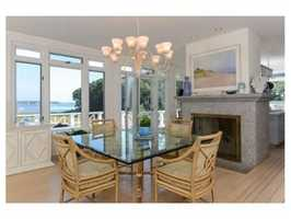The home offers turn of the century charm with modern amenities.