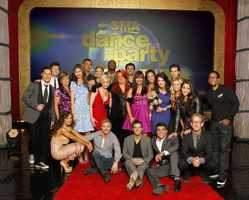 """A look at the cast of Season 16 of """"Dancing with the Stars."""" This season's celebrity and professional pairings, which include Needham's Olympic gold medalist Aly Raisman live on """"Good Morning America"""" on WCVB NewsCenter 5."""