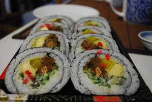 You can satisfy your sushi craving at home, and control what goes into each roll.