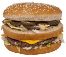 Compare that to this: A McDonald's Big Mac and a small order of French fries total 780 calories and 9 grams of sugar.