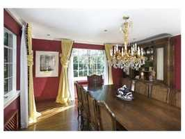 It's rich with architectural detail & large scaled rooms.