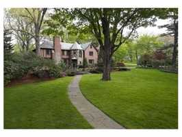 55 Exeter Street is on the market in Newton for $2.49 million.