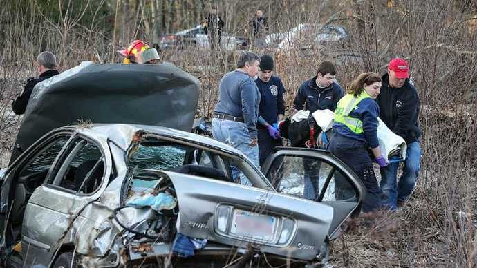 Holliston crash