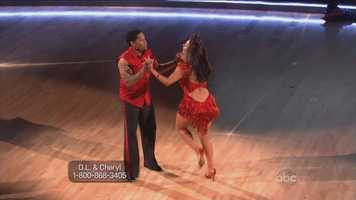 """Bruno said """"Oh my God! You have terminated the Cha-Cha-Cha."""" D.L. was off step most of the dance."""