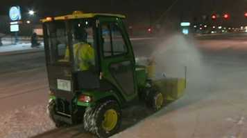 MassDOT said it had about 2,800 pieces of equipment out on the roads.