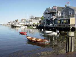 Nantucket County ranked 5th for physical environment, such as the number of fast-food restaurants and access to recreational facilities.