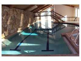 The 25-yard pool.