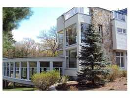 60 Mill Street is on the market in Lincoln for $2.99 million.