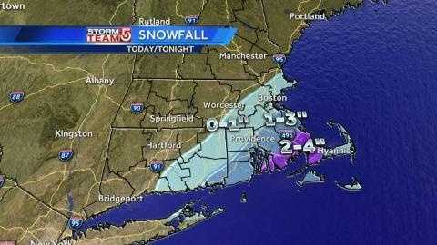 Thurs 4p snow map