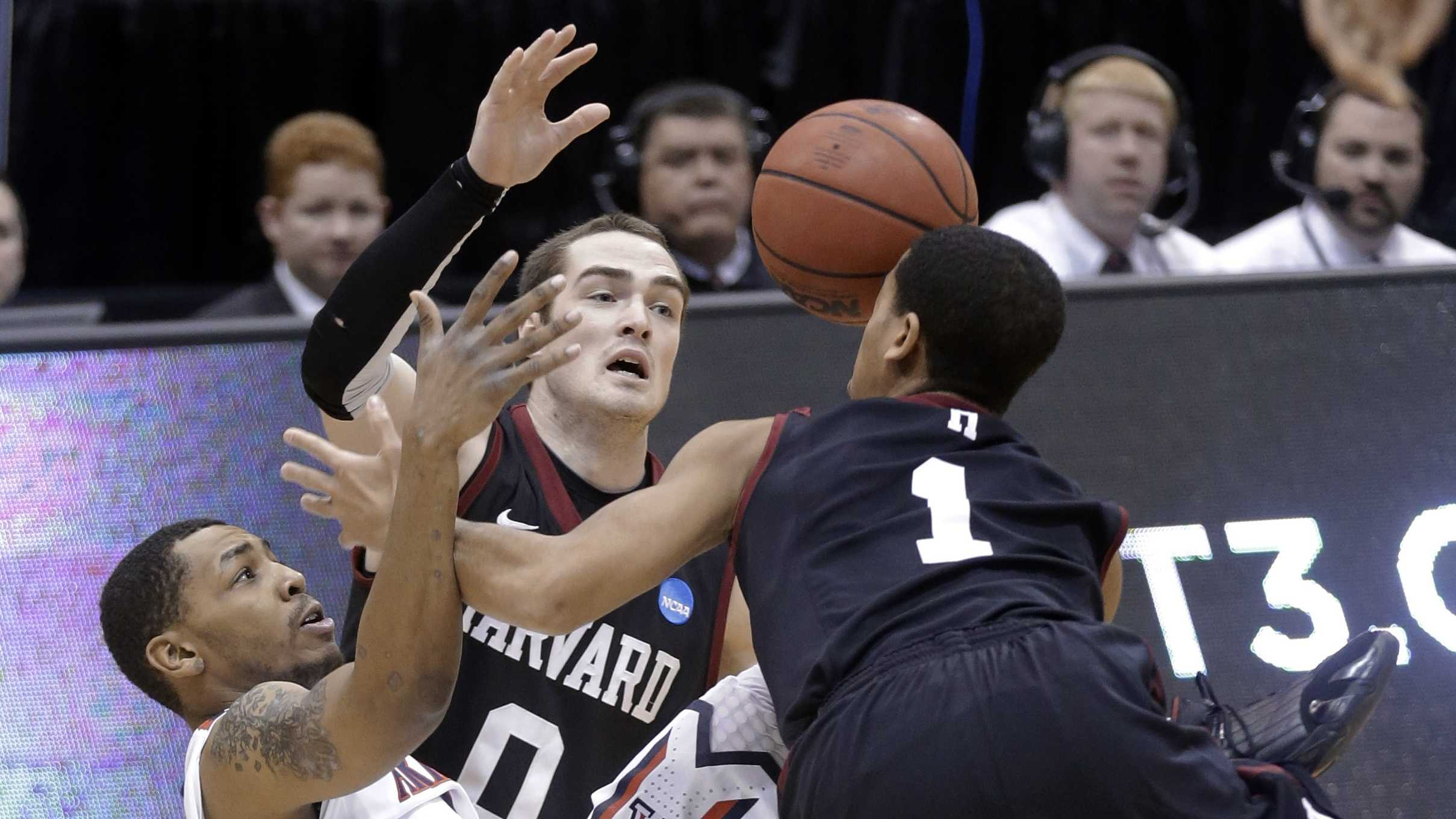 Harvard Arizona NCAA