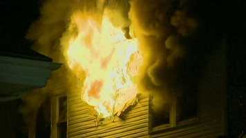 The fire started at about midnight at 145 Lewis Street.