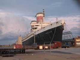 Here is a look at the history of the ship that has spent decades awaiting a savior at its berth on the Philadelphia waterfront.