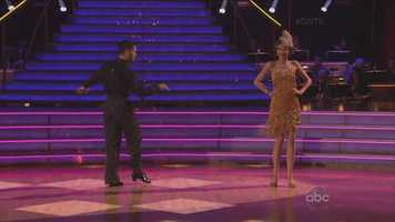 Disney Channel star Zendaya performed the jive with her professional dance partner Valentin Chmerkovskiy.