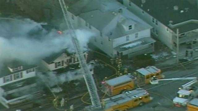 Milford fire