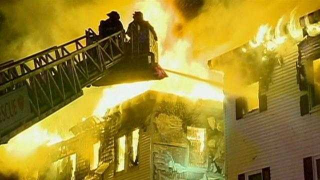 Apartment building blaze was 'intentionally set'