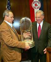 The Red Sox broke the Curse of the Bambino, winning the World Series in 2004 for the first time in decades.