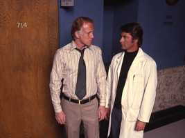 """In 1970, thought to be dead after his plane went down in South America, Phil turns up alive, working in a restaurant near General Hospital under the alias """"Harold Williamson."""""""