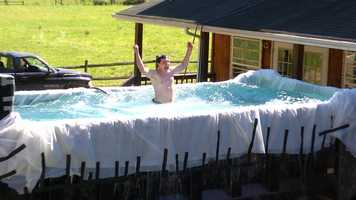 Gandee was the architect of many of the show's stunts and hijinks, including converting a dump truck into a swimming pool.