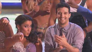 Needham's Olympic gymnast Aly Raisman and her professional dance partner Mark Ballas were the first couple to perform this week.