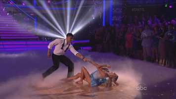 """What just happened? Victor... You're a dancer!"" said Carrie Ann.  ""Your best dance so far for me,"" said Len Goodman."
