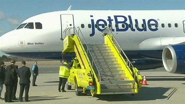 JetBlue coming to Worcester