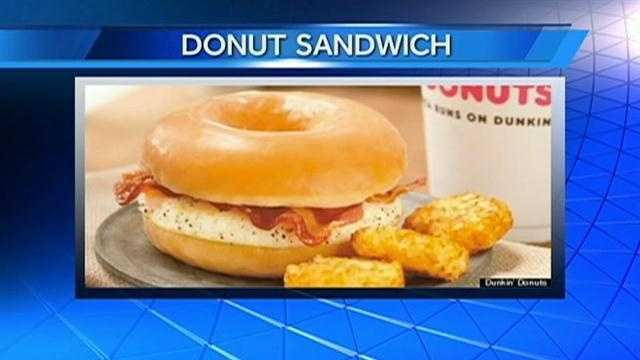 Dunkins cooks up honey glazed breakfast sandwich