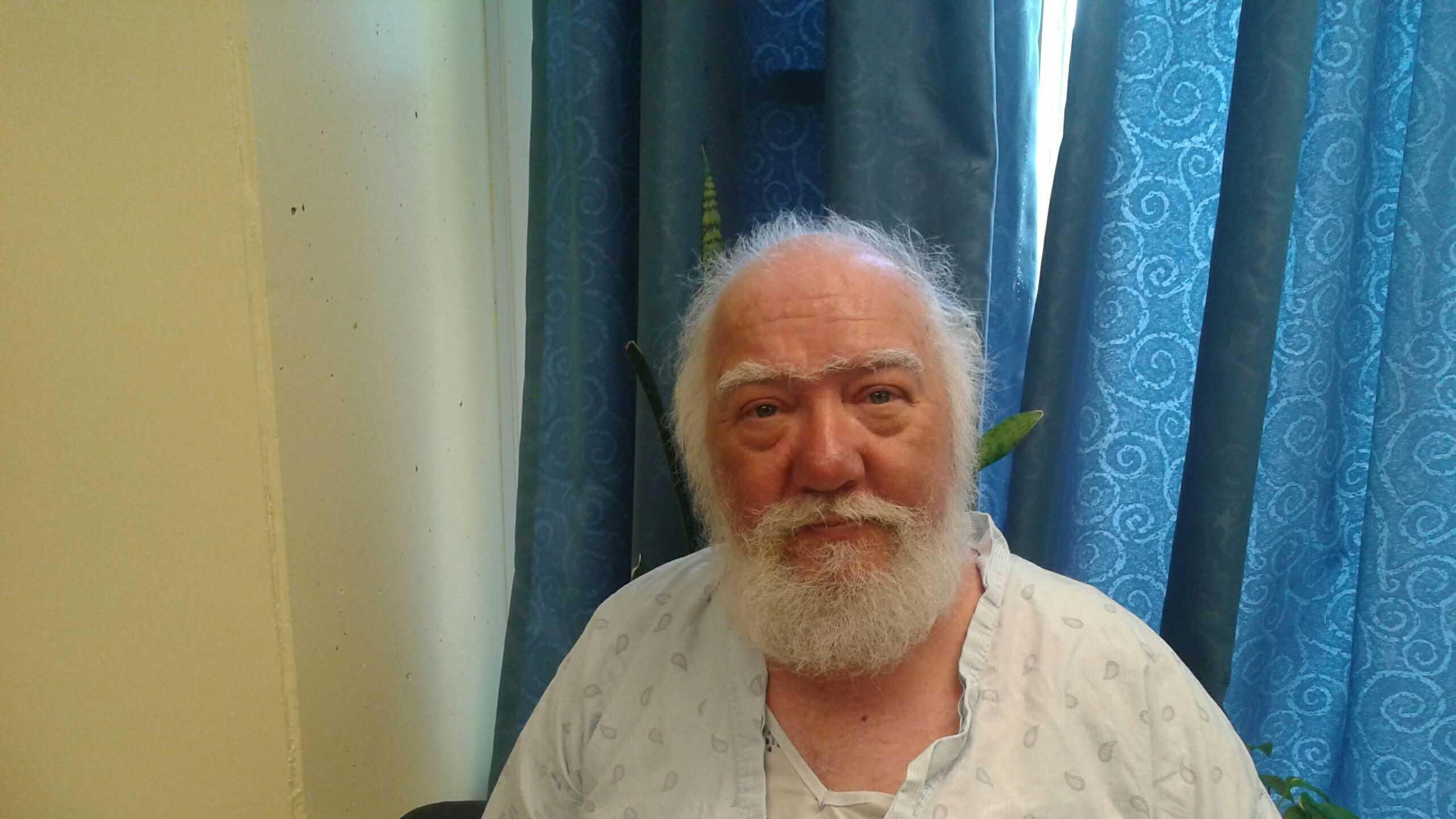 Paul Lessard in Hospital