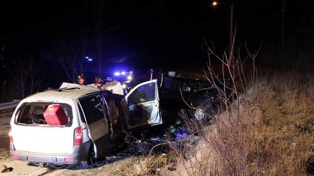 Claremont crash