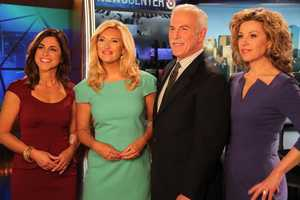 The newest member of Storm Team 5 is Cindy Fitzgibbon, seen with anchors Bianca de la Garza, Randy Price and traffic reporter Dorothy Krysiuk
