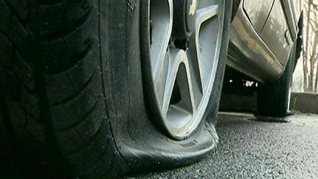 Vandals torch nun's car, slash tires in elderly parking lot