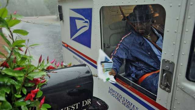 Post man, mail service, mailman, usps