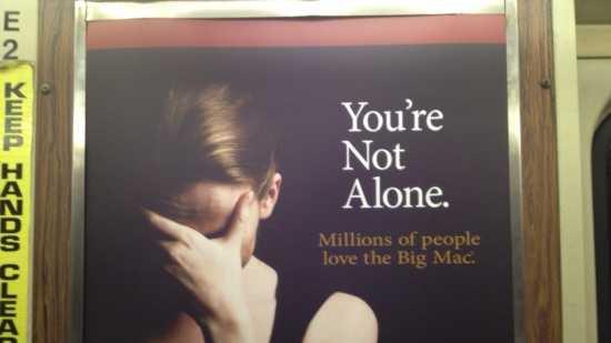 McDonald's MBTA Ad
